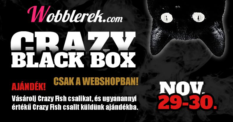 Crazy Black Box - november 29-30.