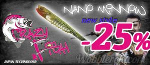 Crazy Fish Nano Minnow New Style - wobblerek.com