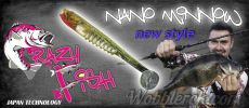 Crazy Fish Nano Minnow New Style