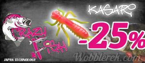 Crazy Fish Kasari - wobblerek.com