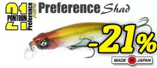 Pontoon 21 & DUO Preference Shad 55