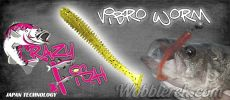 Crazy Fish Vibro Worm FLOATING