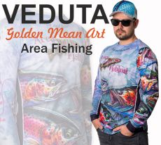 VEDUTA Area Fishing Jersey póló