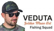 VEDUTA Fishing Squad baseball sapka