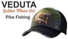 VEDUTA Pike Fishing baseball sapka